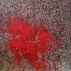 Sans titre - Pigments naturels sur toile - 100x73 cm - 2014