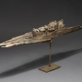 Barque - Bronze unique - 120x15 cm - 2016