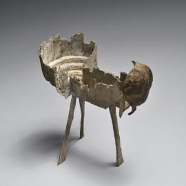 Petit Theatre Graine - Bronze unique - 15x10x8 cm