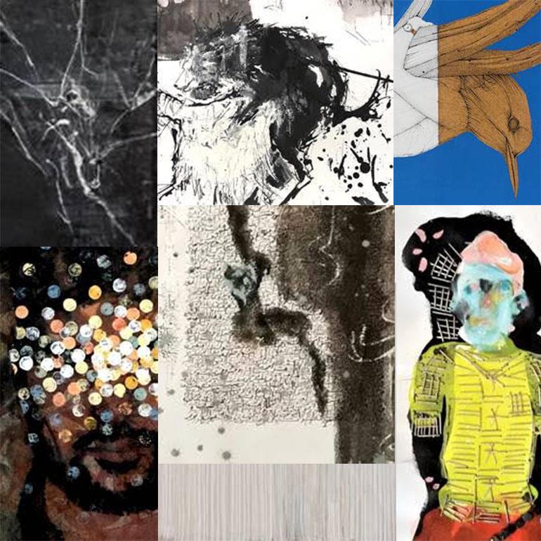 L'exposition collective «Papiers-peints»